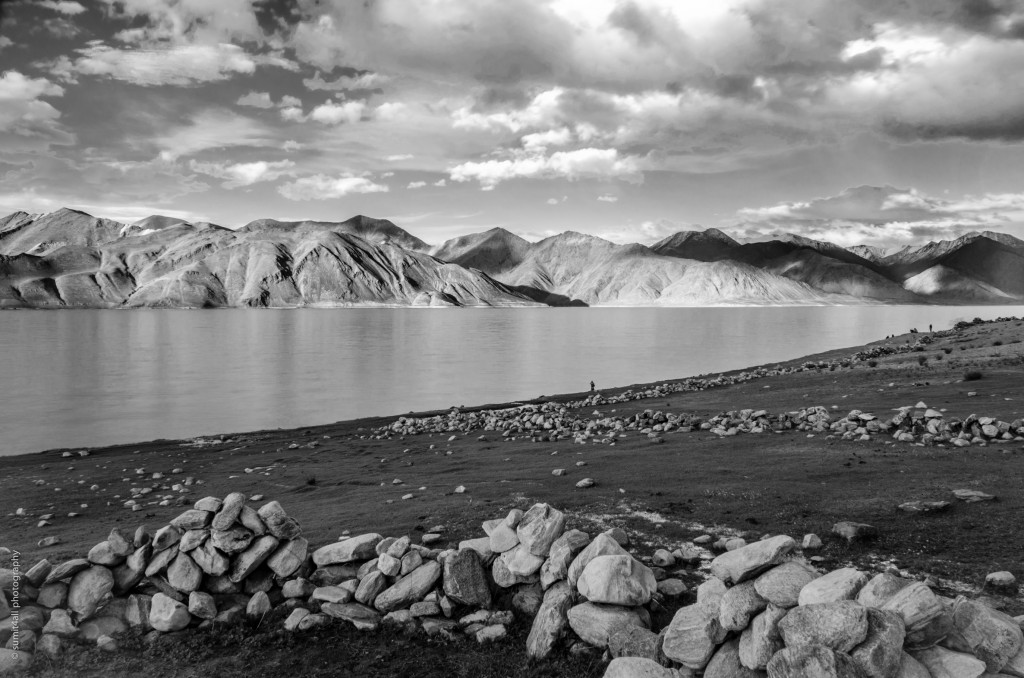 Serene Beauty of the Pangong Tso Lake