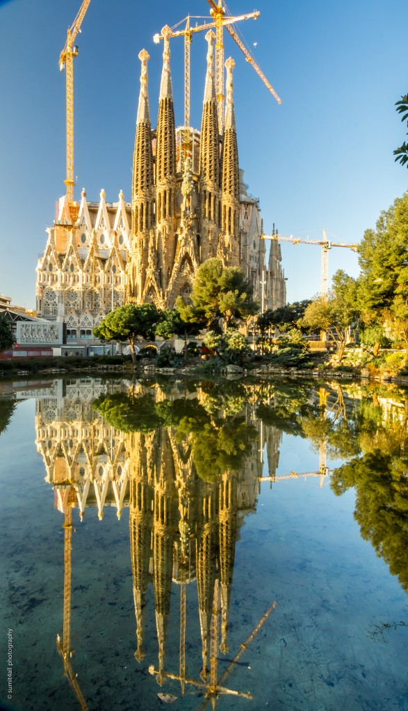 Unfinished Gaudi Masterpiece - The Sagrada Familia
