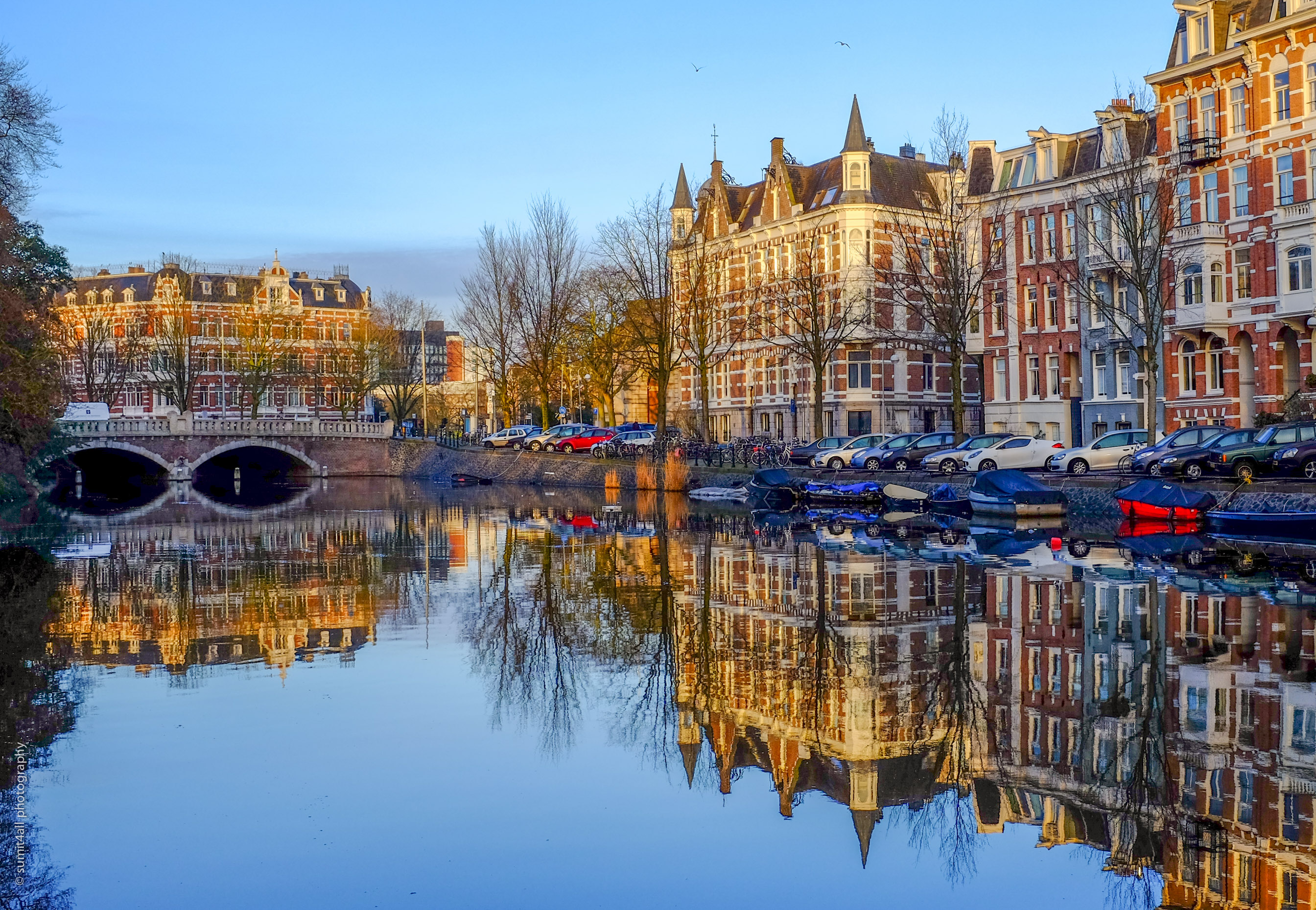 A Summer Afternoon in Amsterdam
