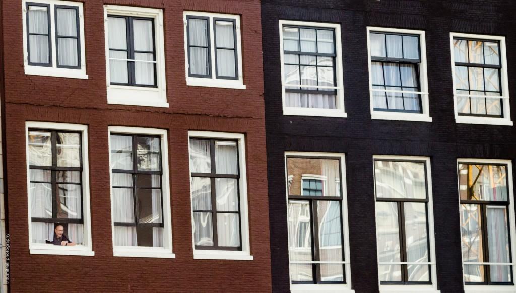 Amsterdam Narrow Houses and Windows