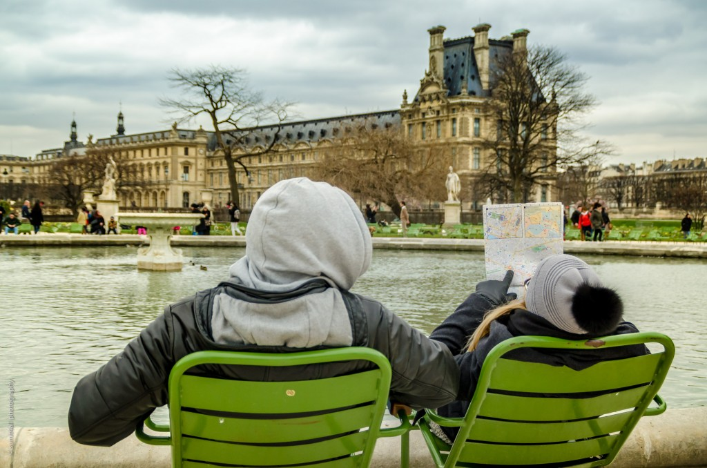 The Jardin de Tuileries