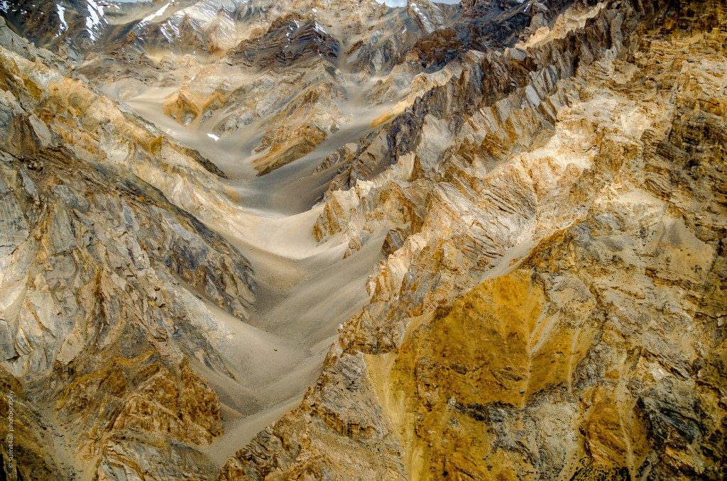 Amazing natural landscapes in the Ladakh Himalayas