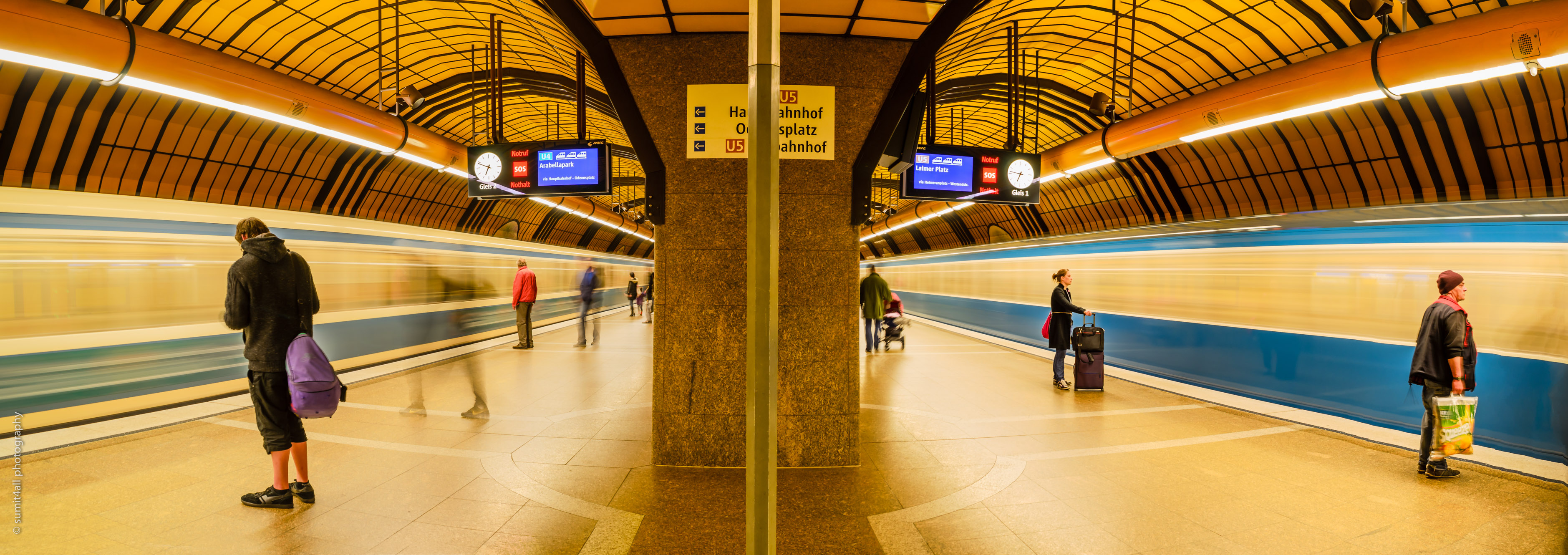 Metro Stations in Munich – An Artistic Statement