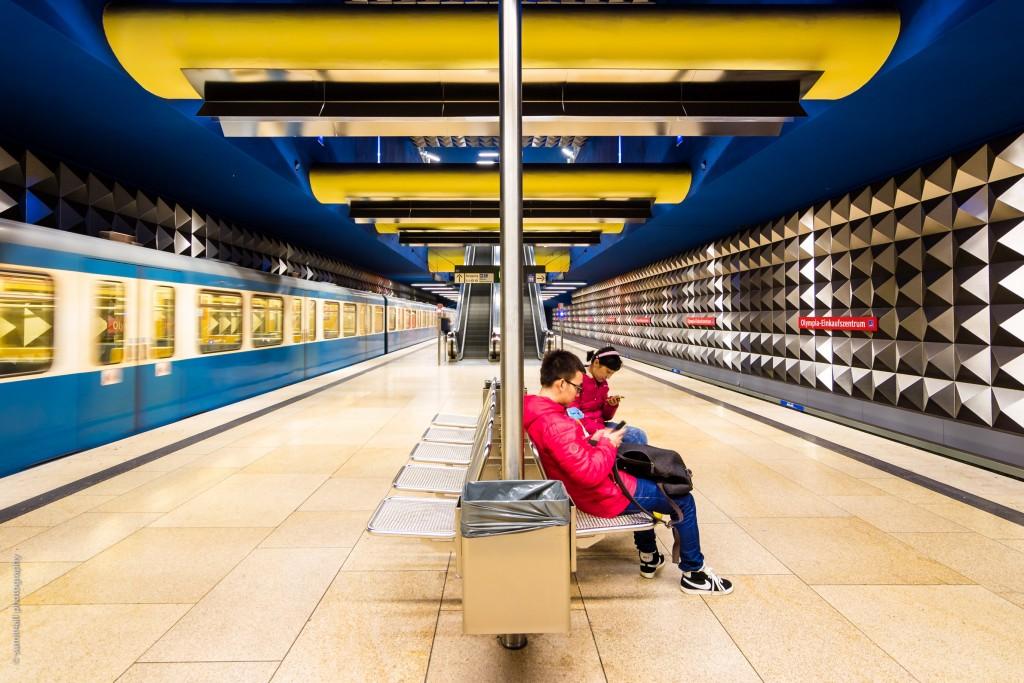 Olympia-Einkaufszentrum Station
