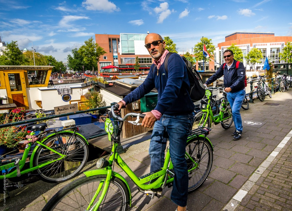 Biking is a way of life in Amsterdam