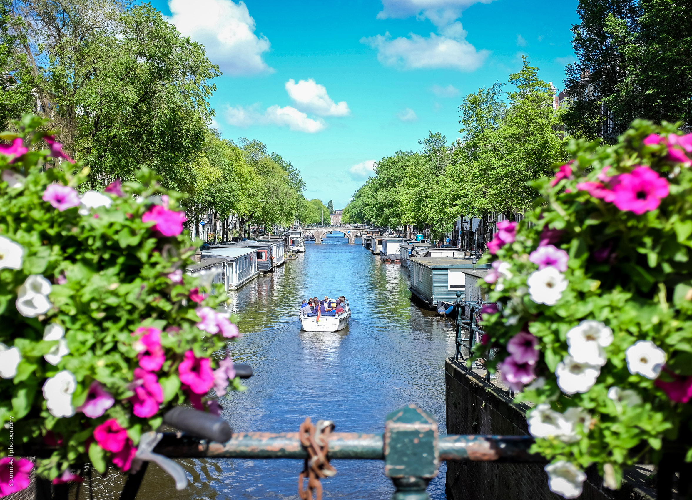 Wonderful summer day in Amsterdam