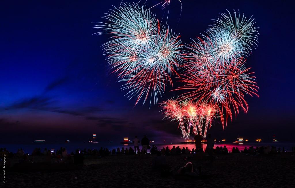 Fireworks Show at Scheveningen