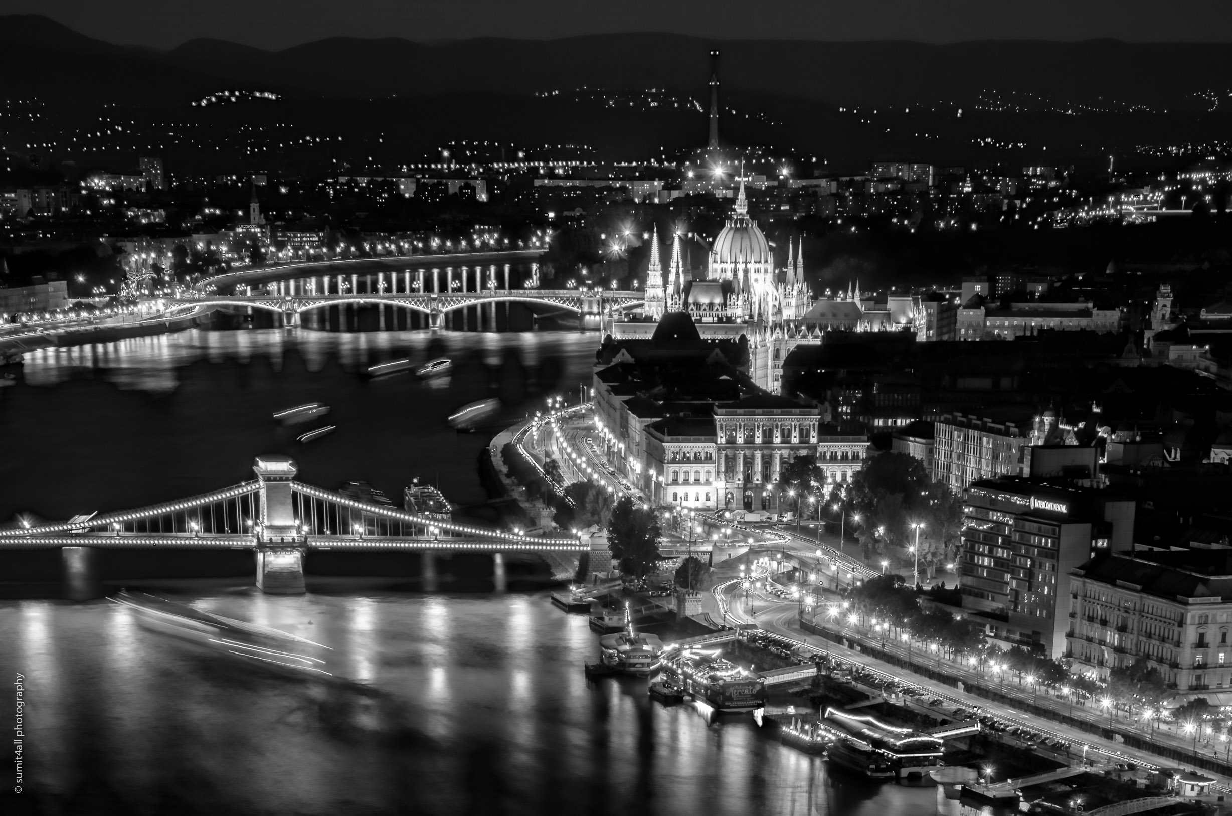 budapest beyond colors in monochrome a photo essay sumit4all beautiful promenade by the chain bridge leading up to the parliament building