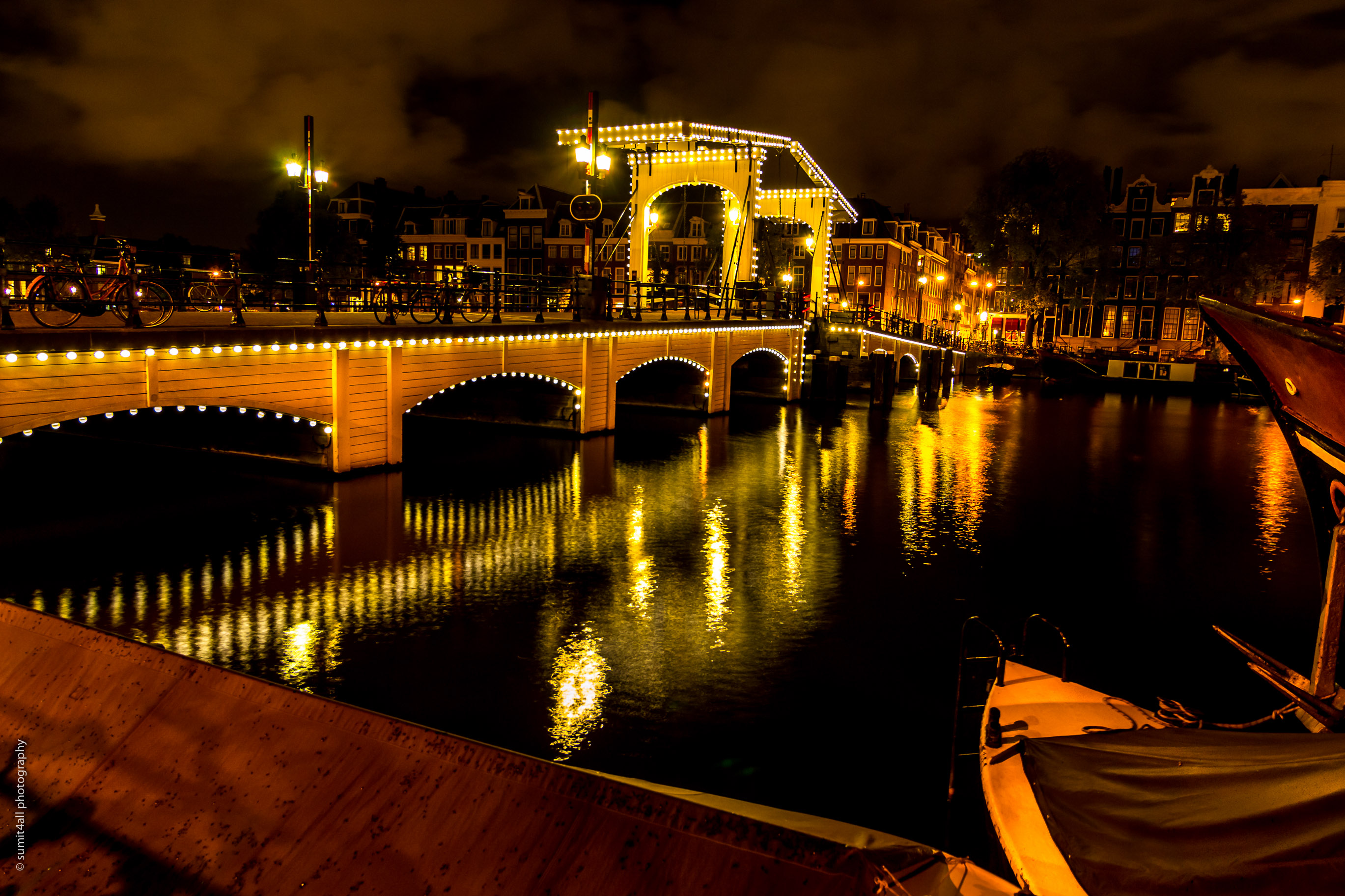 The Magere Brug in Amsterdam
