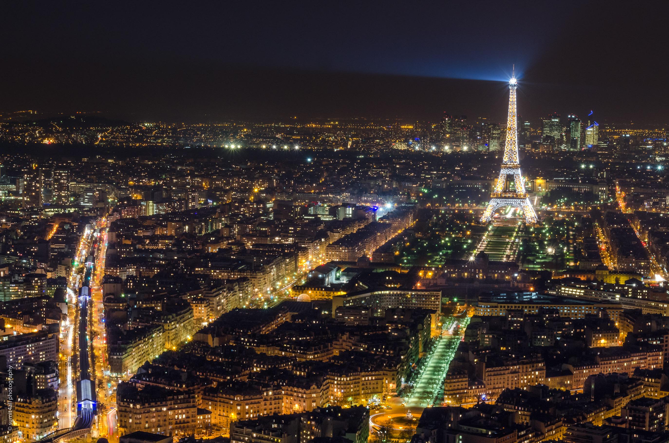 Paris Skyline from Montparnasse Tower