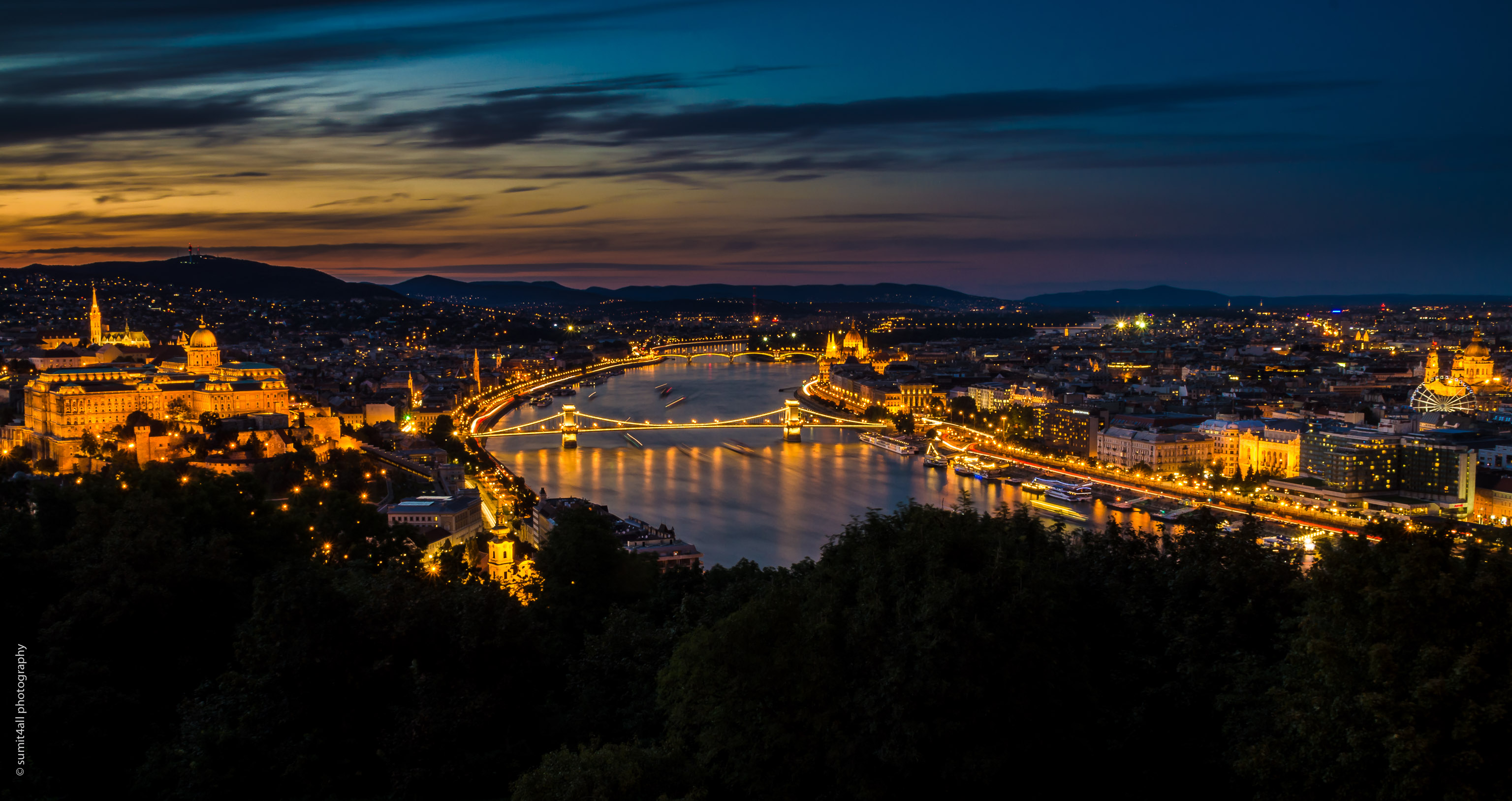 Budapest Castle and Danube View