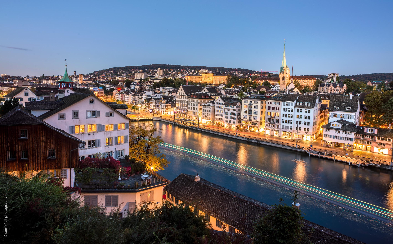 Zurich after Sunset