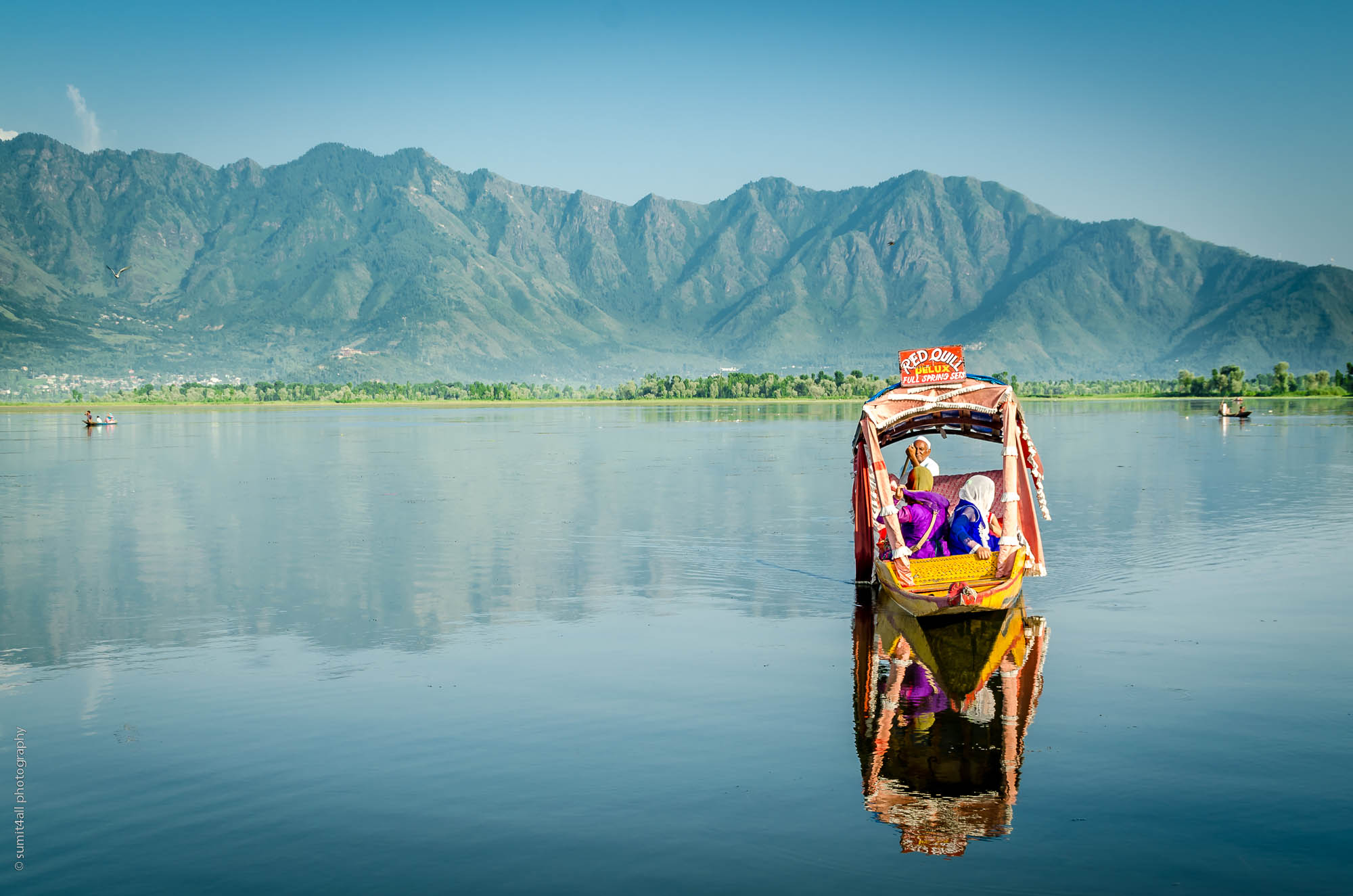 Serene Waters of Dal Lake Srinagar