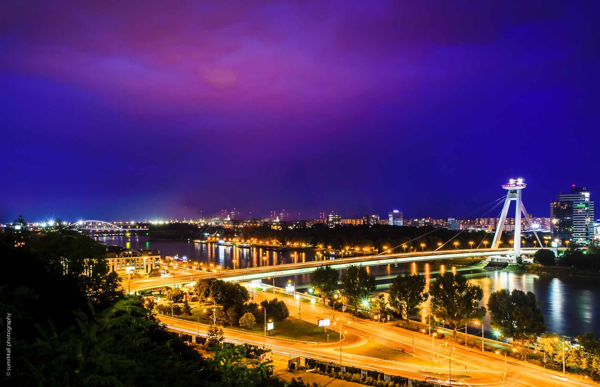 Most SNP Bridge Bratislava