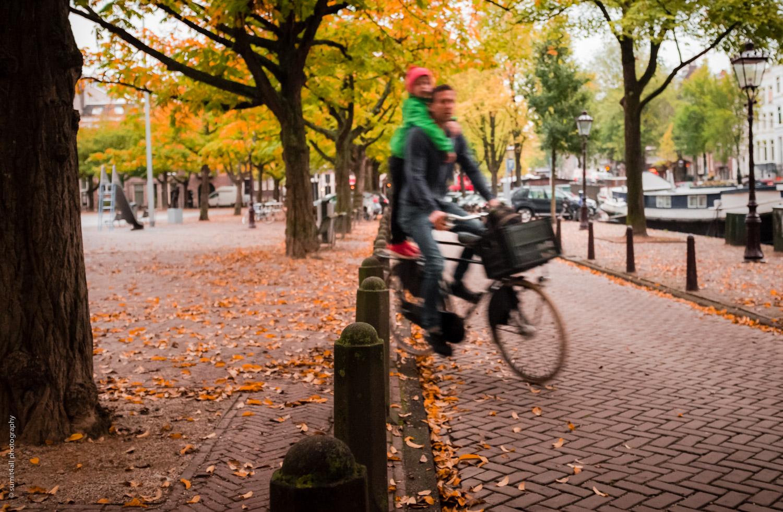 Bike ride to school