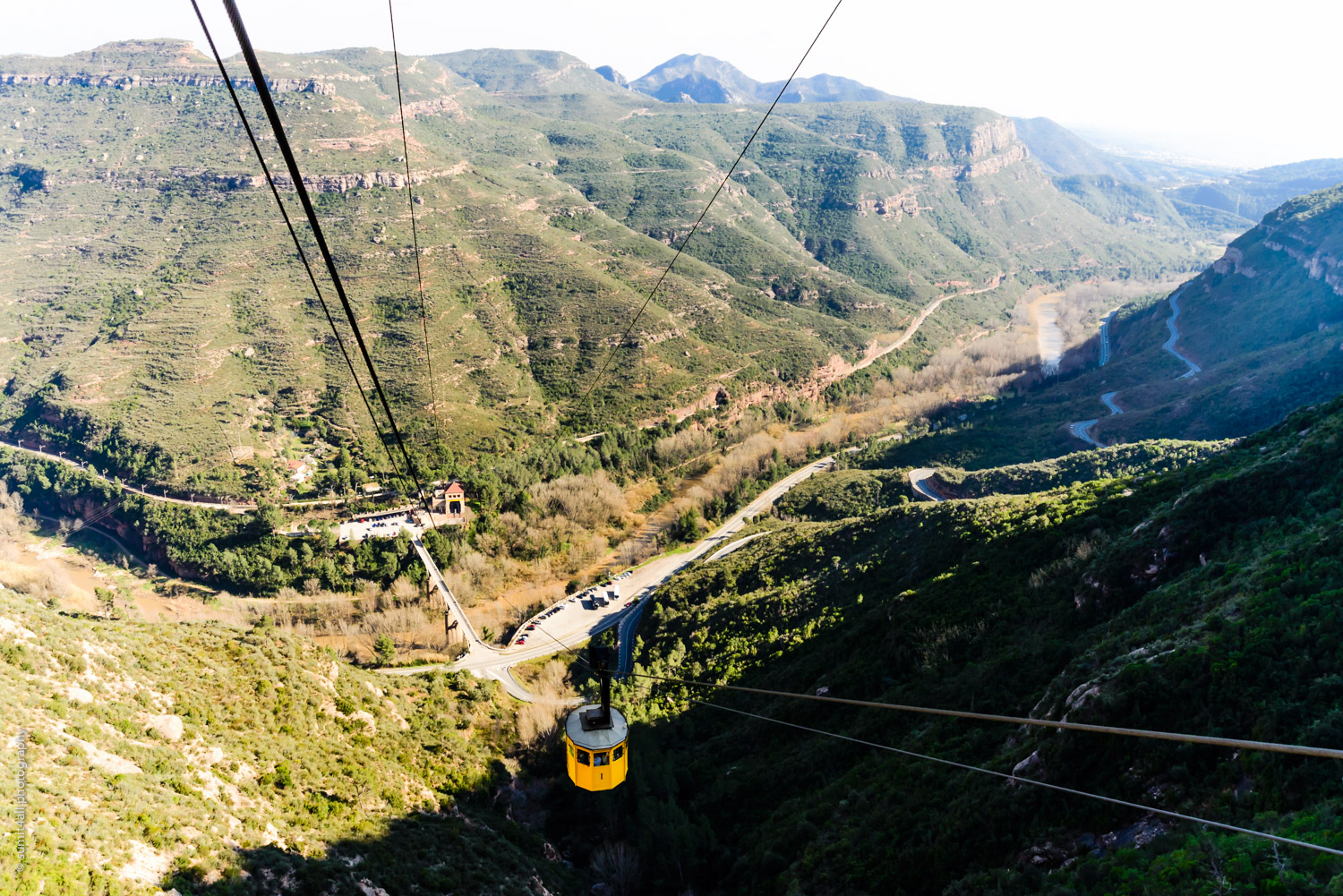 A Cable Car in the Alps