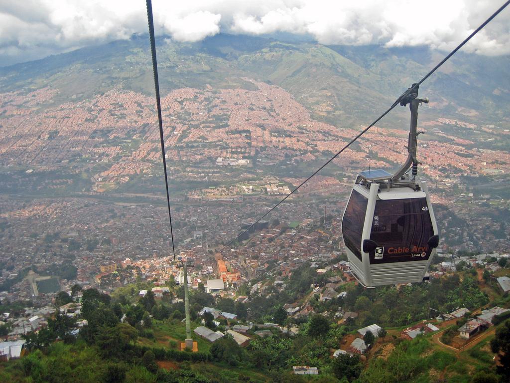 The Medellín Metrocable
