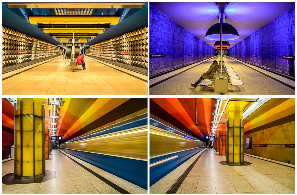 Metro Stations in Munich