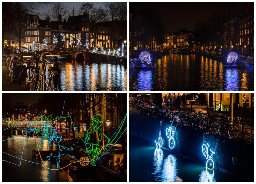 Light Festival in Amsterdam