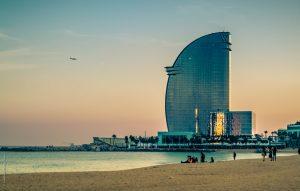 Hotel W in Barcelona