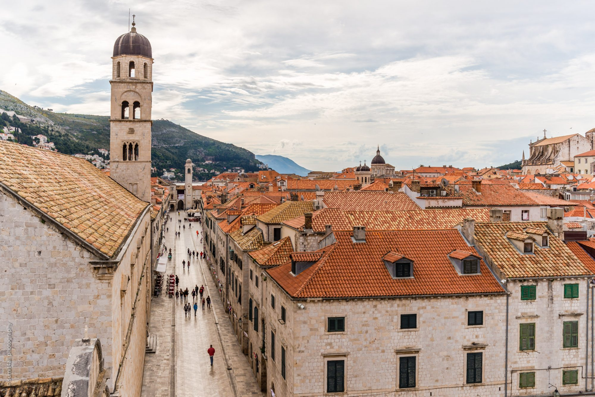 Dubrovnik Old City from the City Walls