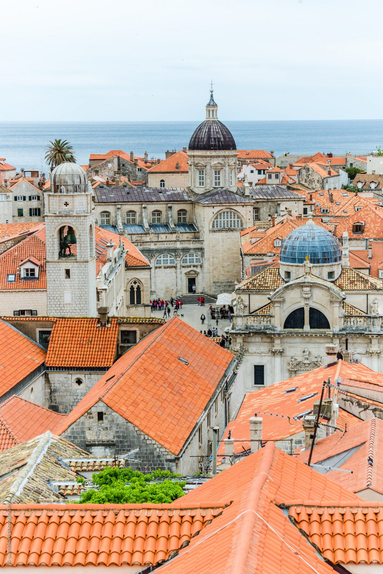 Orange Tiled Rooftops, Dubrovnik, Croatia