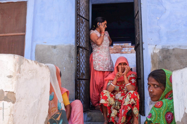 Street Scene in Jodhpur, India