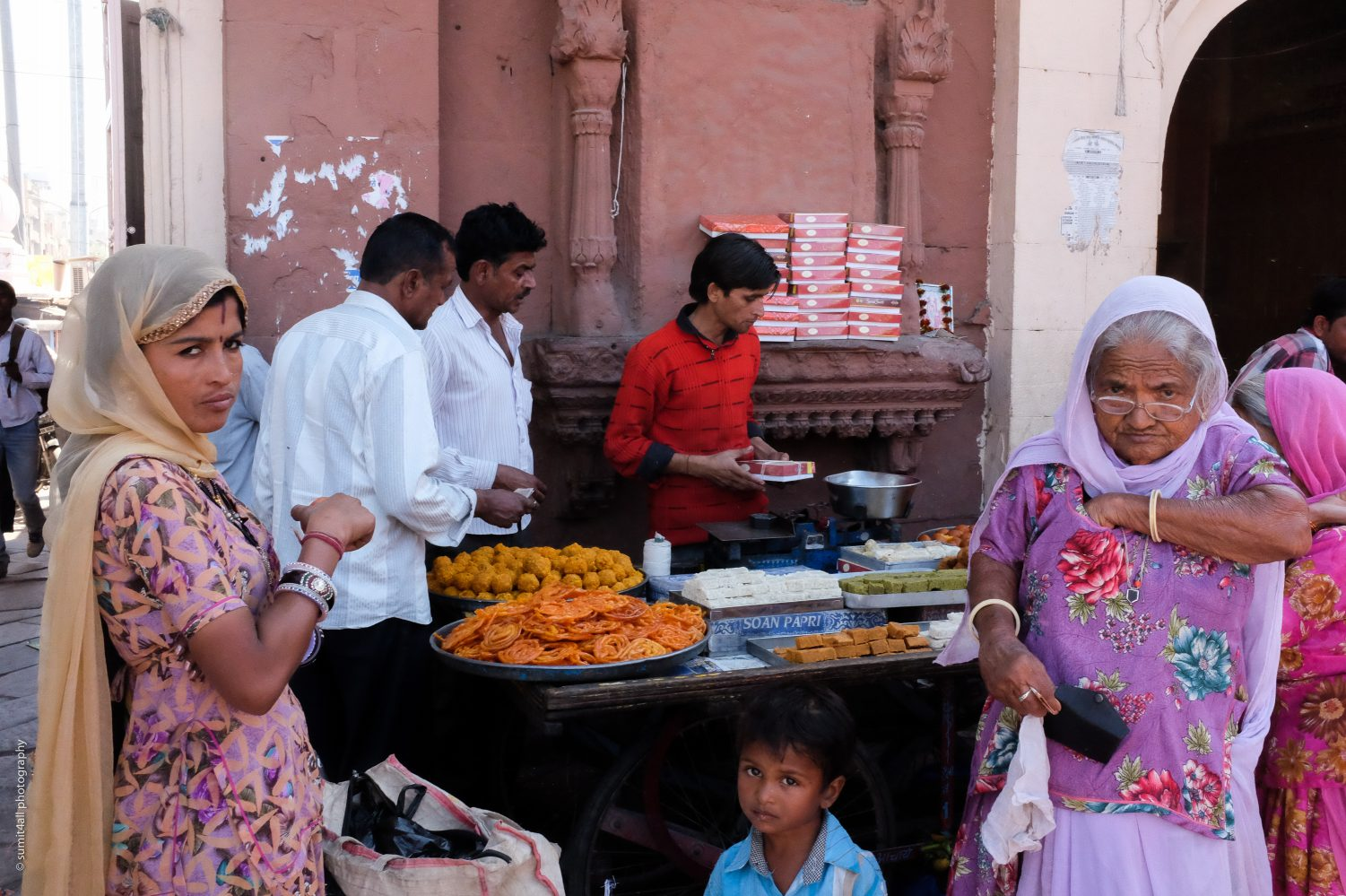 Street Food Stall in Jodhpur, India