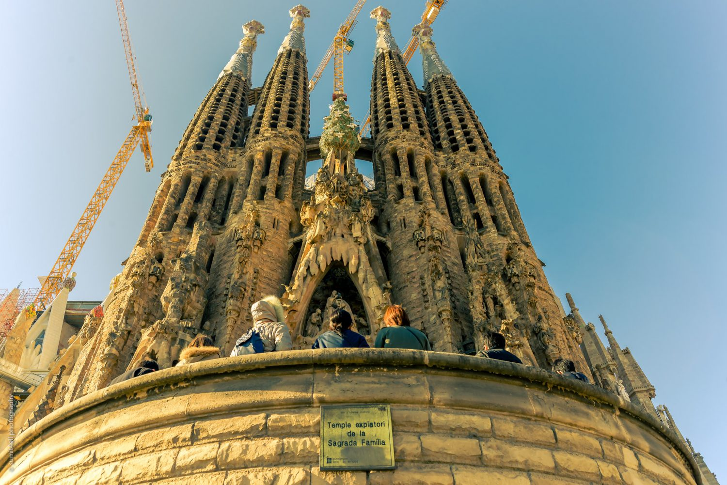 The Sagrada Familia is now one of the most visited tourist spots in Europe
