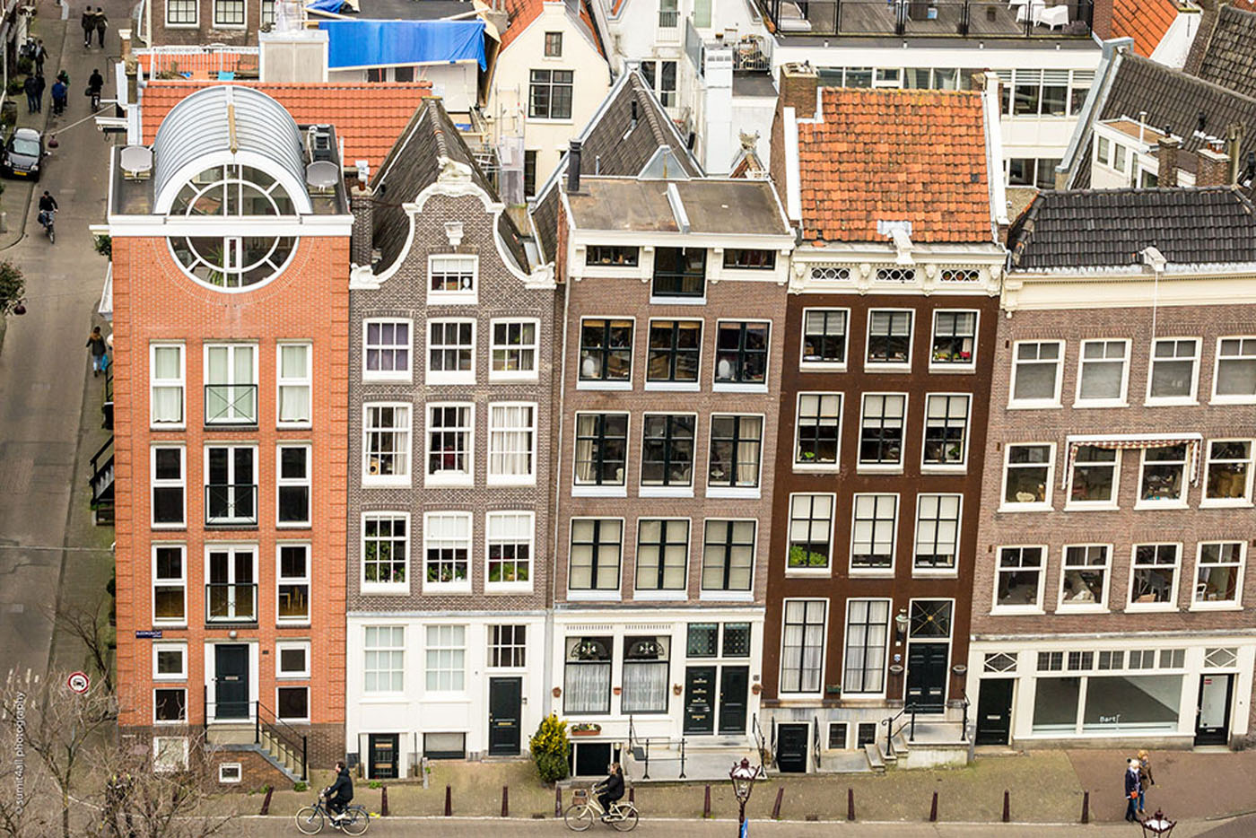 Tall & Vertical Houses in Amsterdam