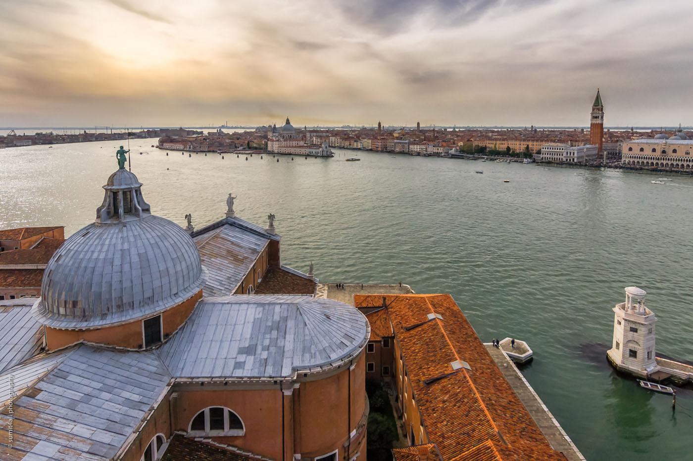 Venice from San Giorgio Church Tower