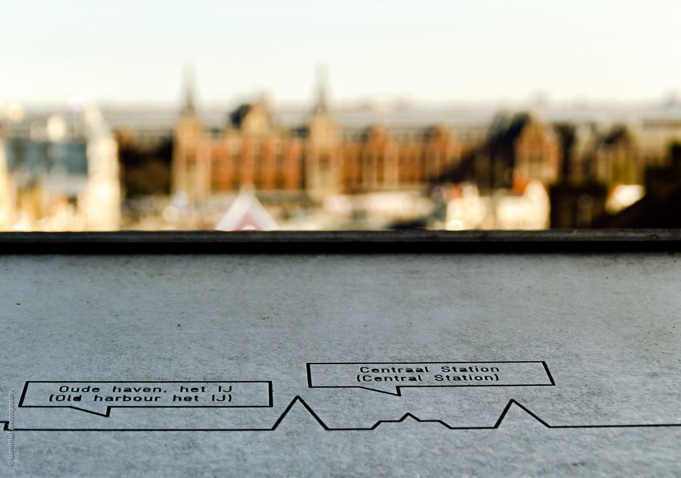 Amsterdam Centraal Station from the Beurs Van Berlage
