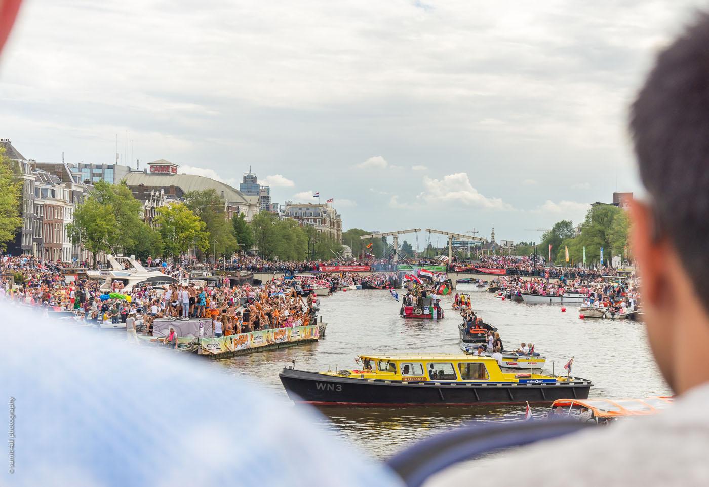 Gay Pride Parade Amsterdam 2017