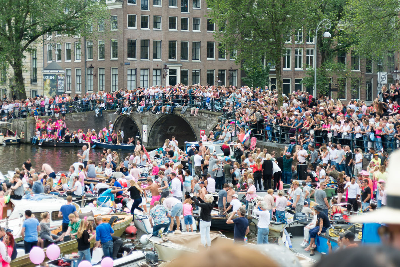 Amsterdam Gay Pride Parade 2017