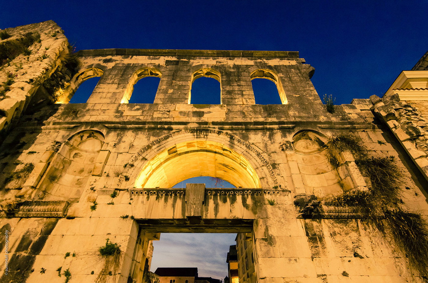 Diocletian's Palace Gate, Split, Croatia
