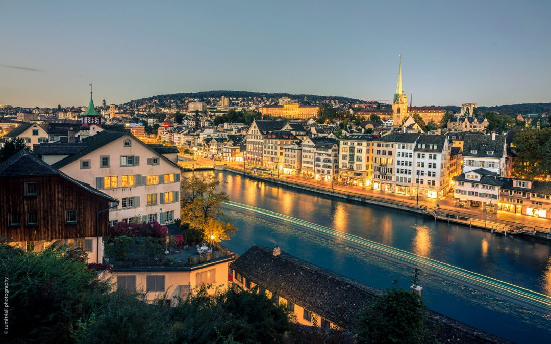 A Weekend In Zurich Along The Limmat River