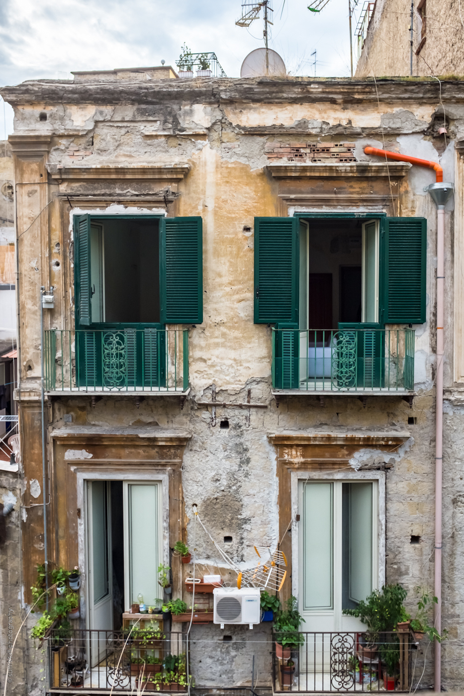 Beauty in Imperfection in a City - Naples, Italy
