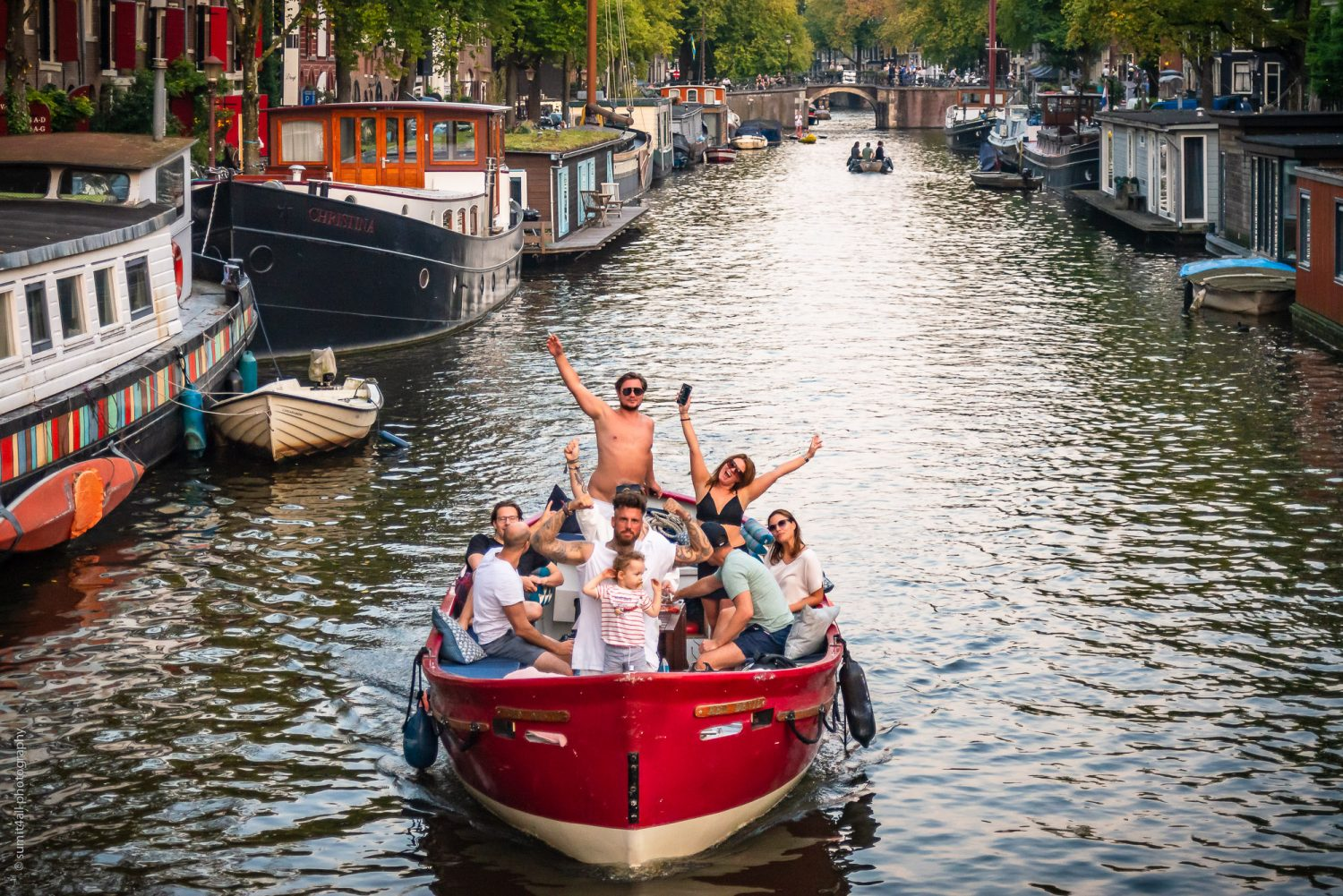 Party Vibes On The Canals In Amsterdam