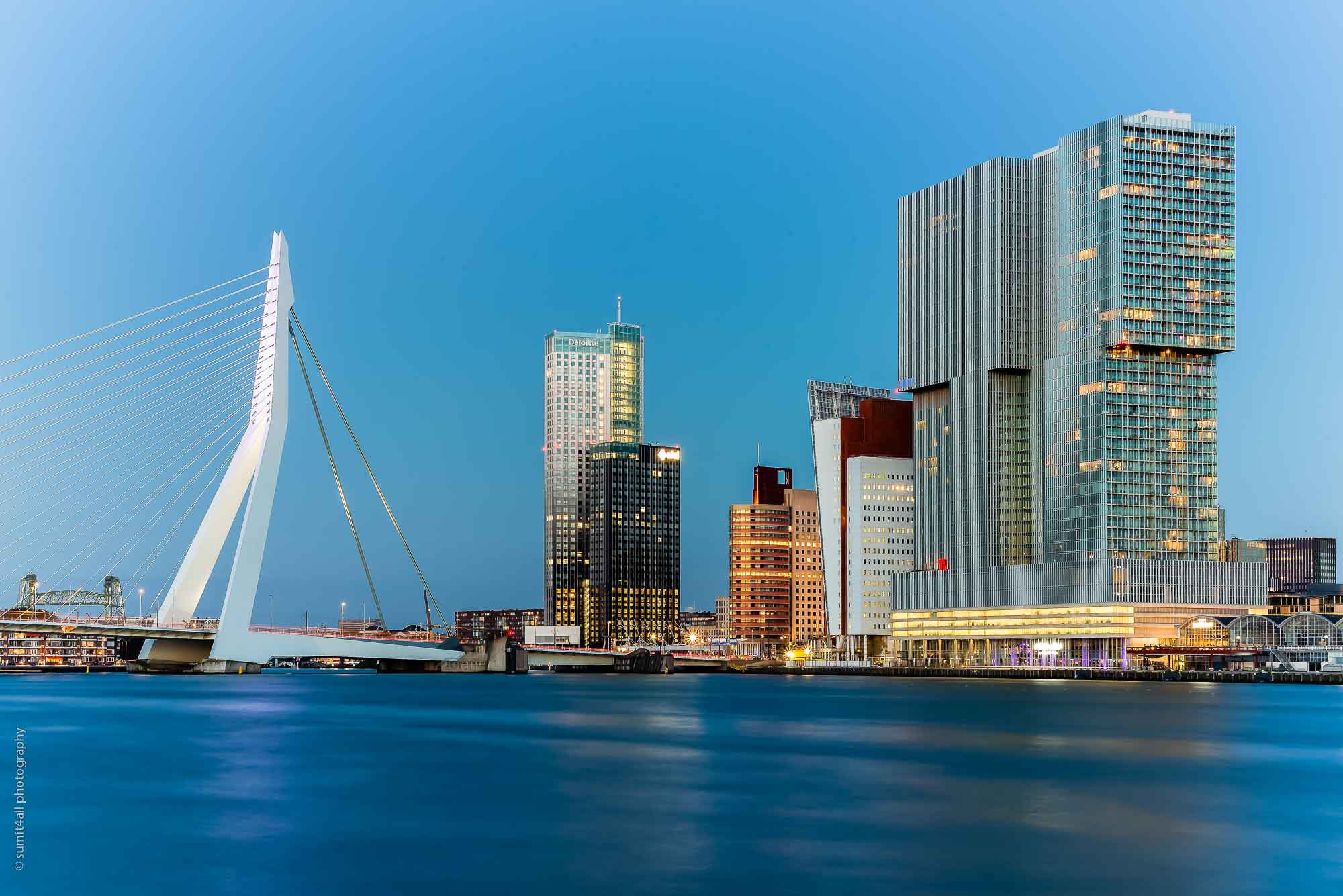 Modern Architecture at its best in Rotterdam