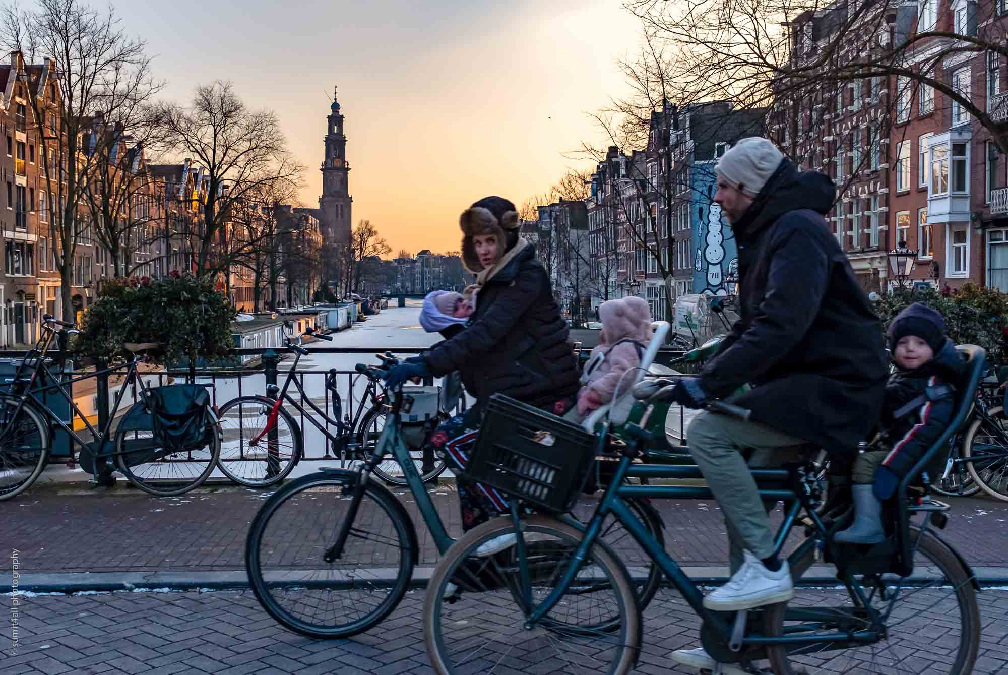Living the Dutch Way, Even When the Canals are Frozen and Snowed Over