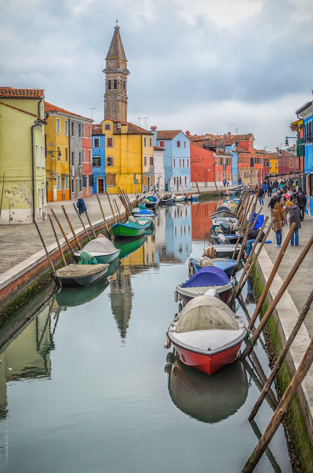 Colourful Houses, Burano Island, Venice