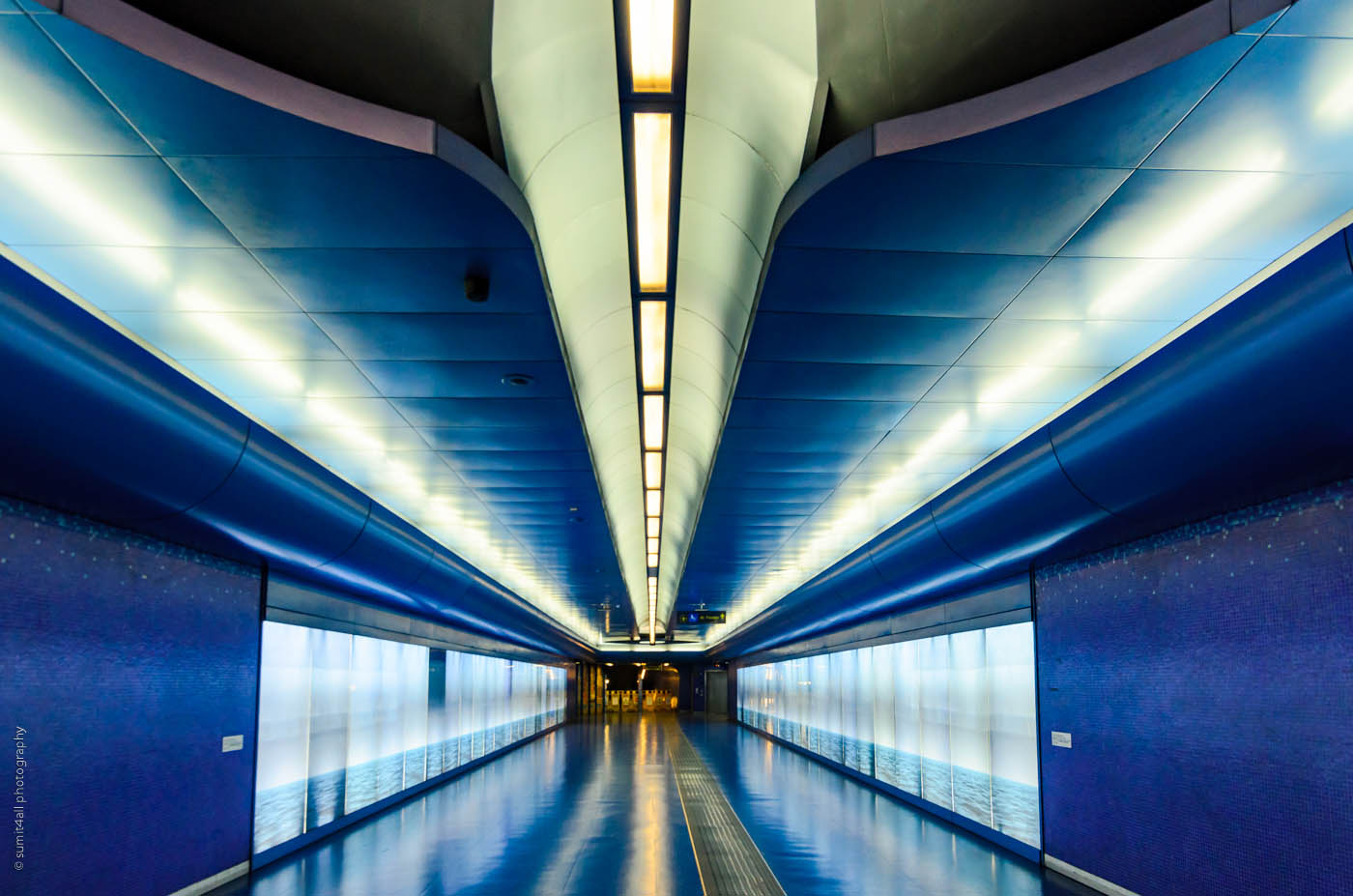 A Shiny Metro Station in Naples
