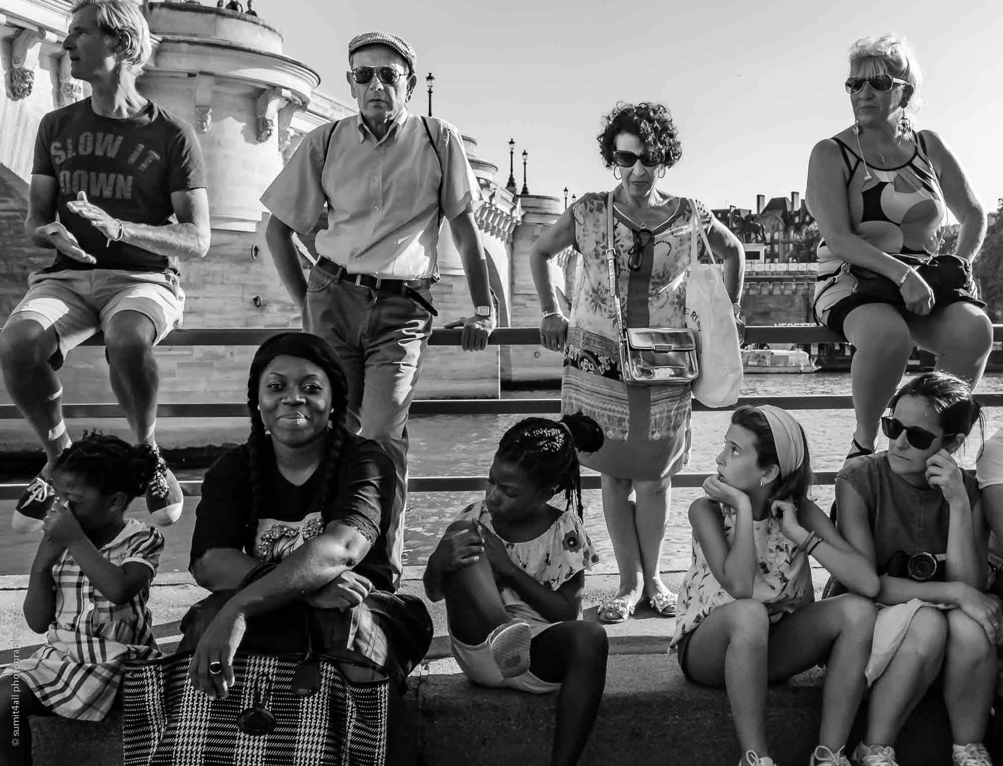Summer Fun By The Seine in Paris