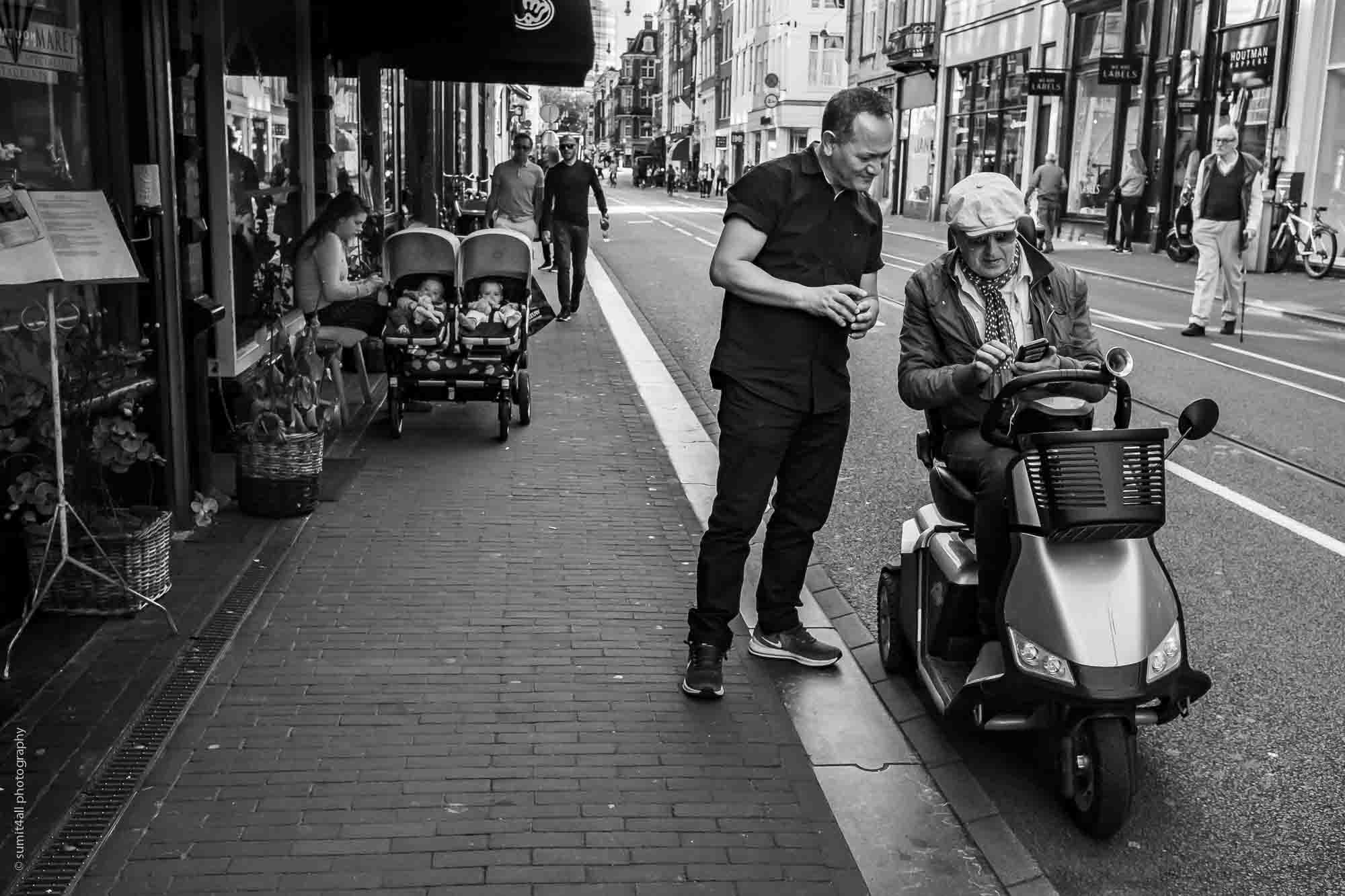 A City For Everyone - Young and Old - in Amsterdam